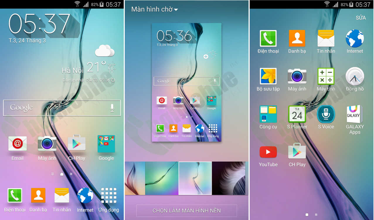 how to delete apps samsung s6