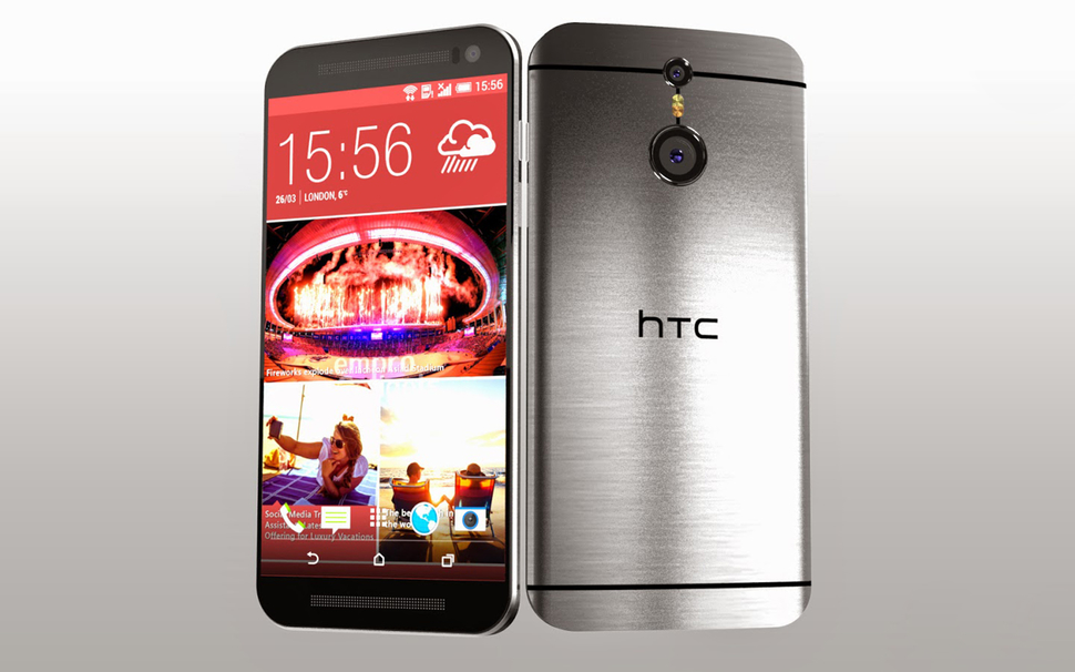 HTC One M9 se calienta