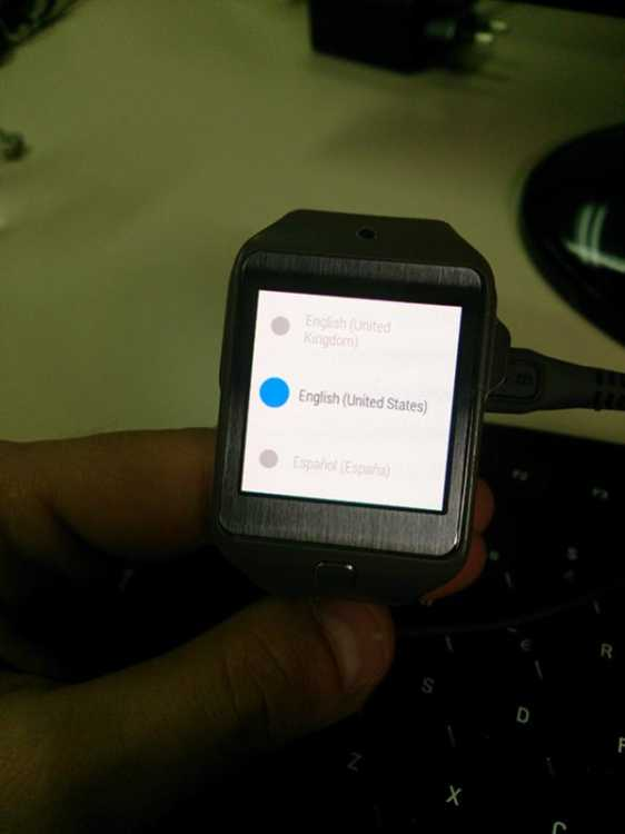 Android Wear running on Gear 2