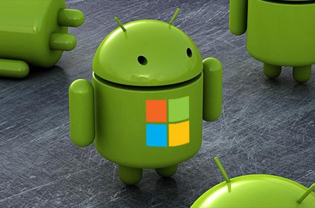 Microsoft y Android