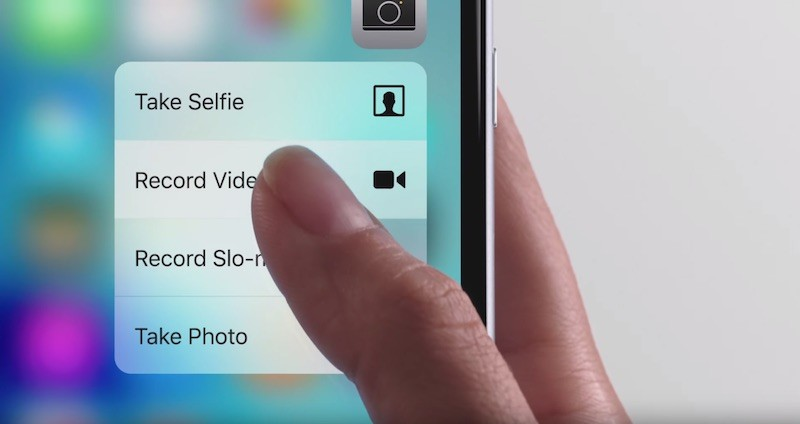 Opciones 3D Touch - iPhone 6S