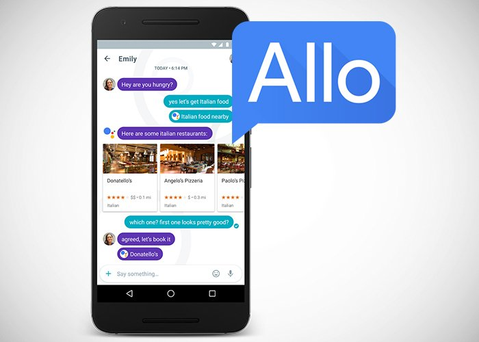 Google Allo ya disponible en Play Store