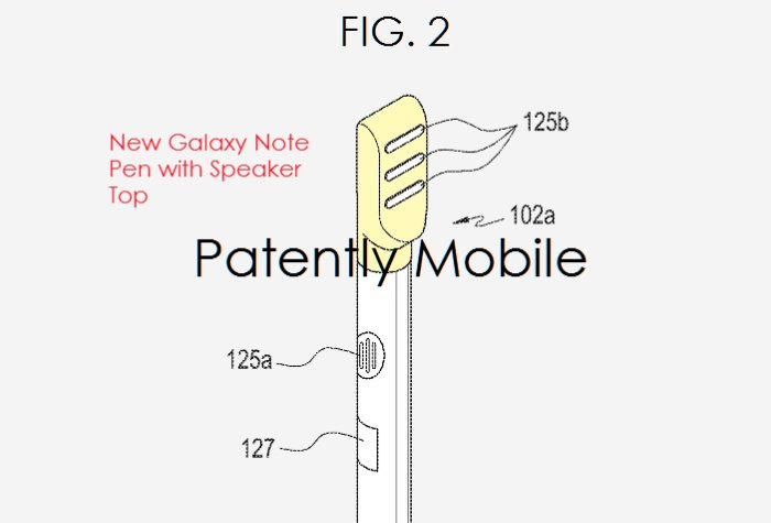 El S Pen del Galaxy Note 8