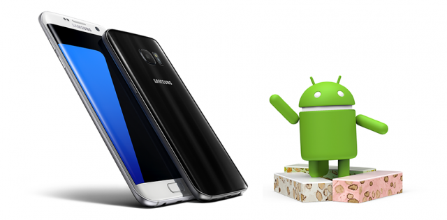 Firmware Android Nougat Samsung Galaxy