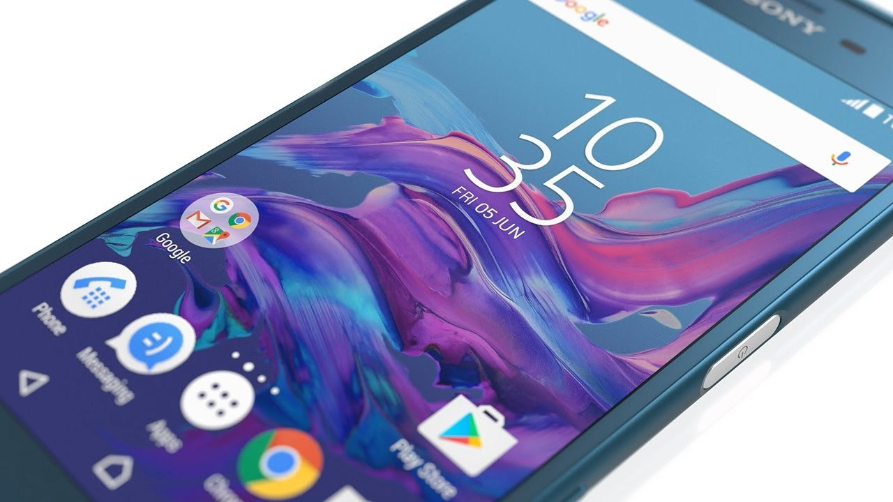 Sony Xperia X Android 7.1.1 Nougat