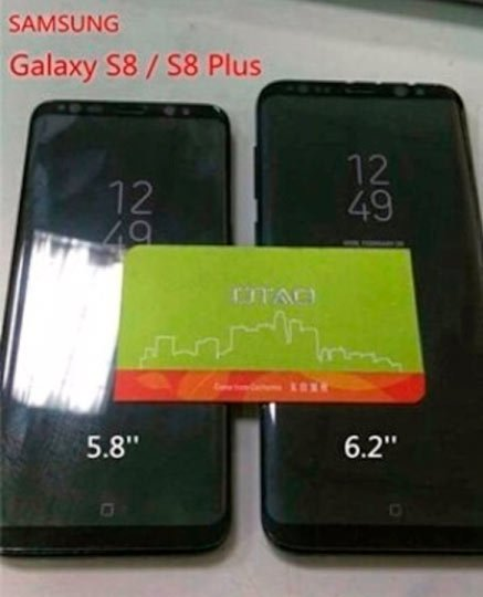 Galaxy S8 y Galaxy S8 Plus | Leaks