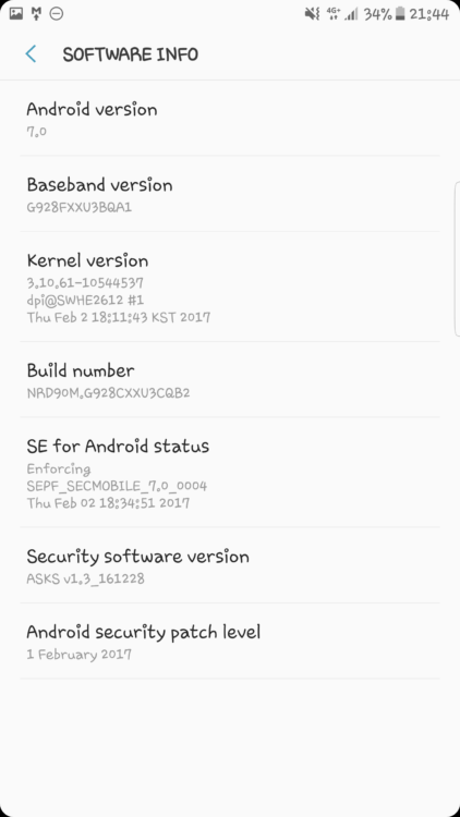 Galaxy S6 Edge Plus | ROM Nougat