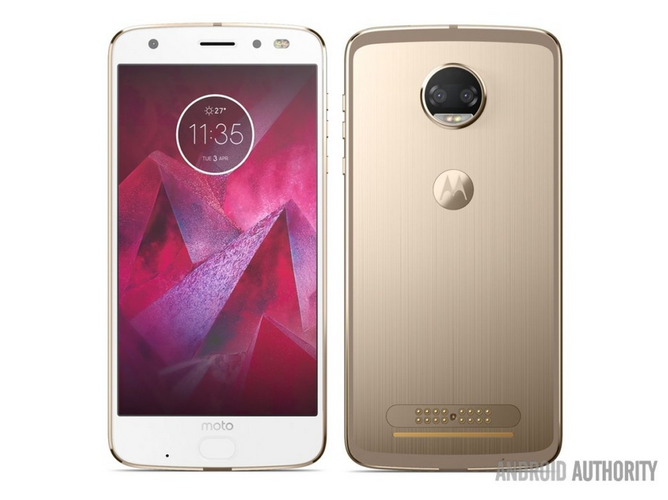 Moto Z2 Force Leaks