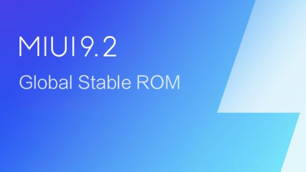 MIUI 9.2 Versión Global Estable se sigue expandiendo [Lista]