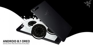 Razer Phone Android 8.1 Oreo