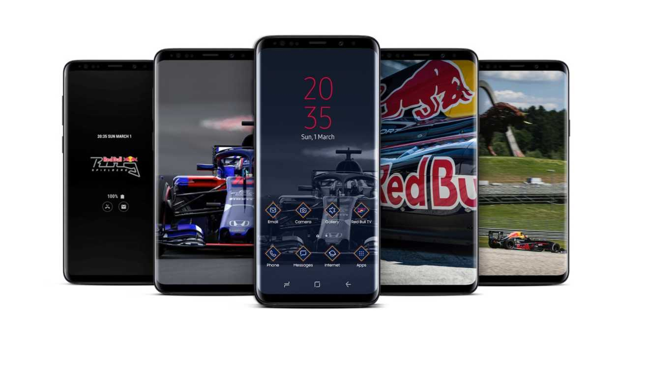 S9 Plus Red Bull Edition