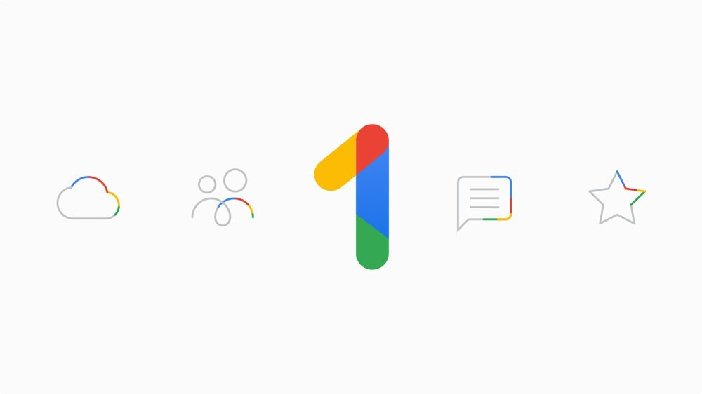 Google One logotipo