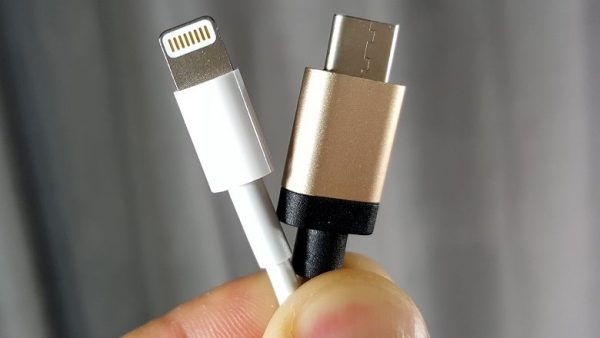 Lightning vs USB Tipo C