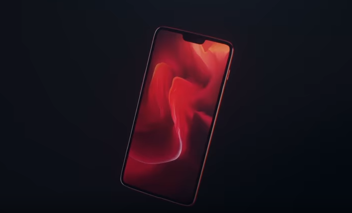 OnePlus color rojo