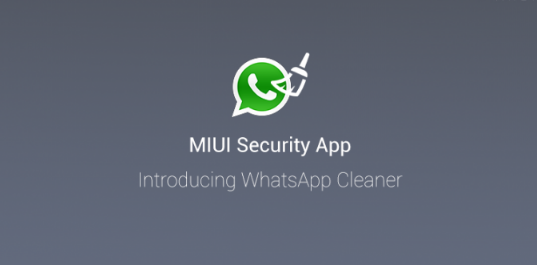 MIUI Whatsapp Cleaner