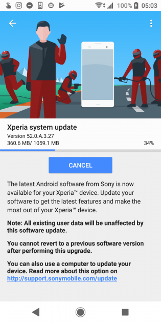 Android 9 Pie (Sony)