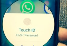 Touch ID - Whatsapp