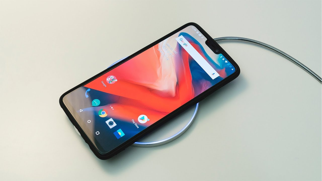 OnePlus 6 sin wireless charging