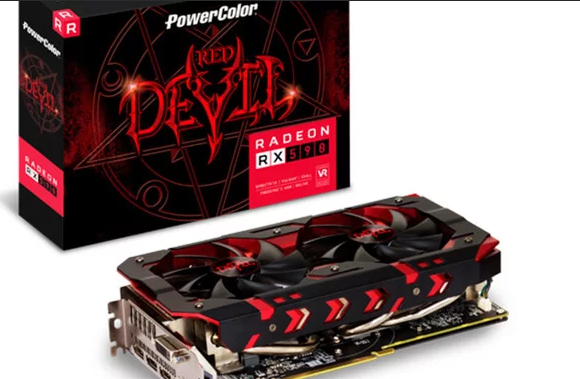 Nueva Radeon RX 590 Red Devil