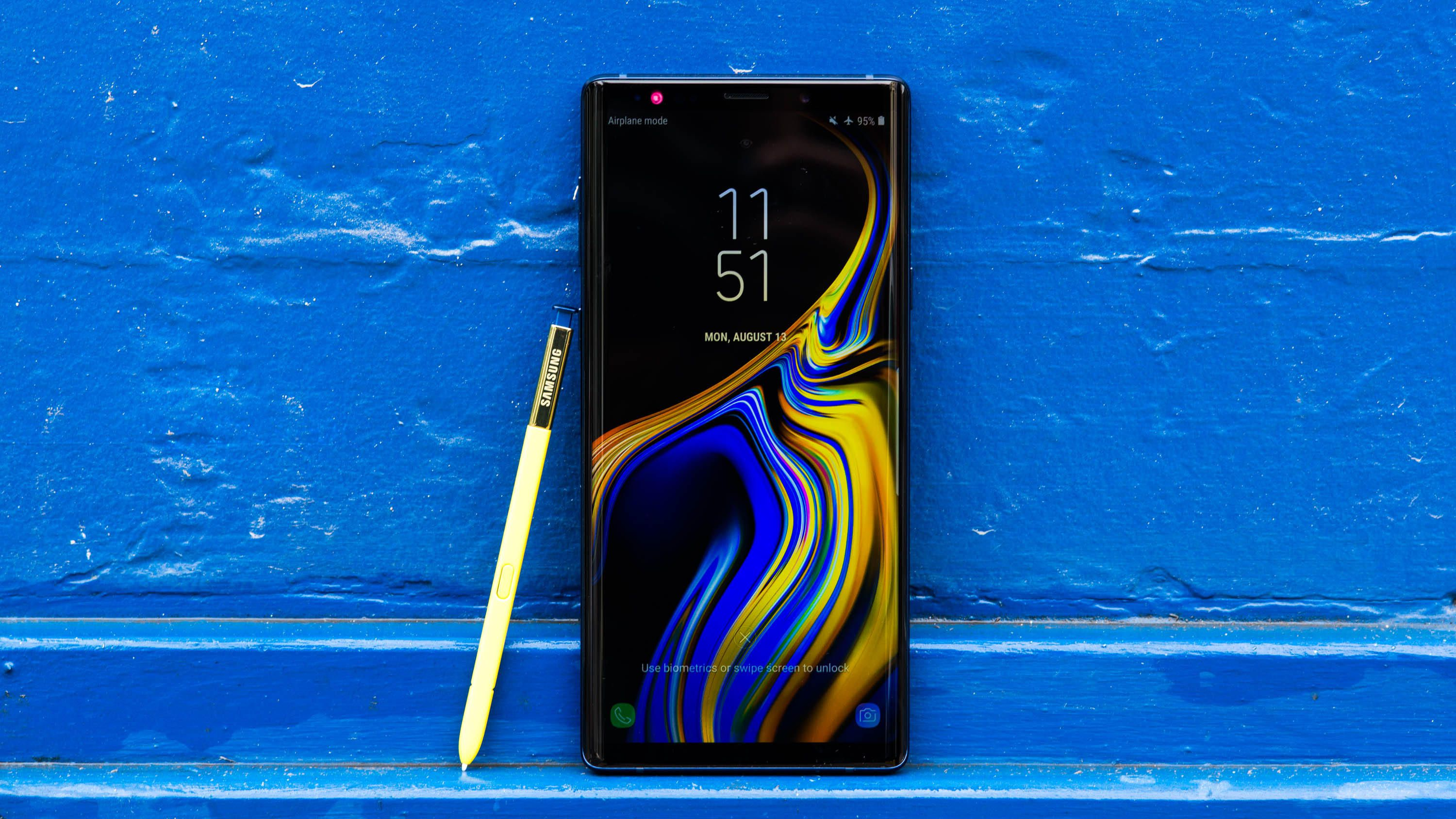 Problemas en el Galaxy Note 9