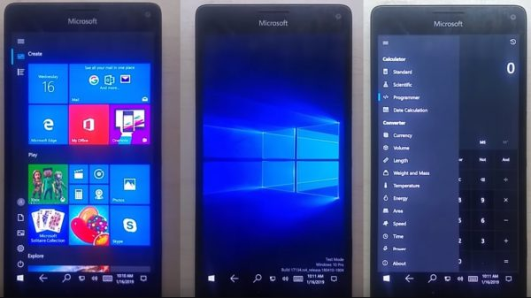 Lumia 950 XL con Windows 10 en ARM