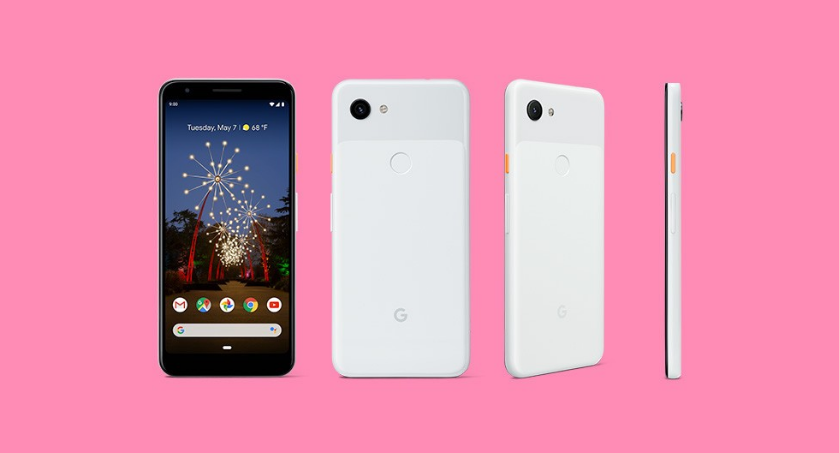 """Google Pixel 3a color """"Clearly White"""""""